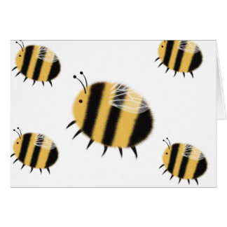 Busy Bee - bzzzz Greeting Card