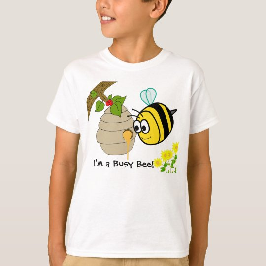 Busy Bee Cute Kid's T-shirts