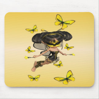 Busy Bee Fairy .. mousepad