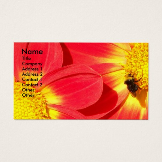 Busy Bee Floral Business Card