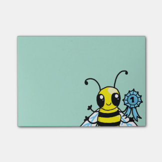 Busy Bee hard work Post-it Notes