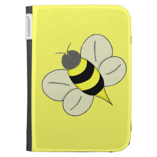 Busy bee kindle folio case