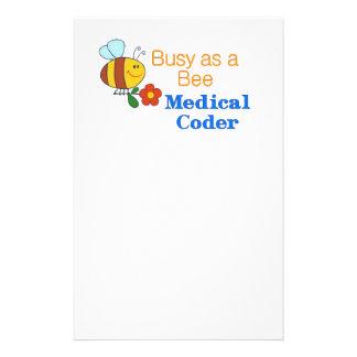 Busy Bee Medical Coder 14 Cm X 21.5 Cm Flyer