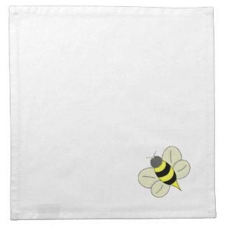 Busy bee napkin