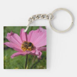 Busy Bee on Cosmo Acrylic Key Chain
