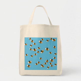 Busy Bee Organic Grocery Tote Grocery Tote Bag