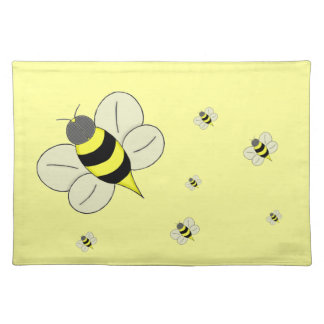 Busy bee placemat