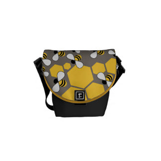 Busy Bees Commuter Bag