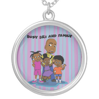 Busy Bri and Family Pendant