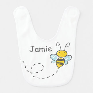 Busy Bumble Bee Bib