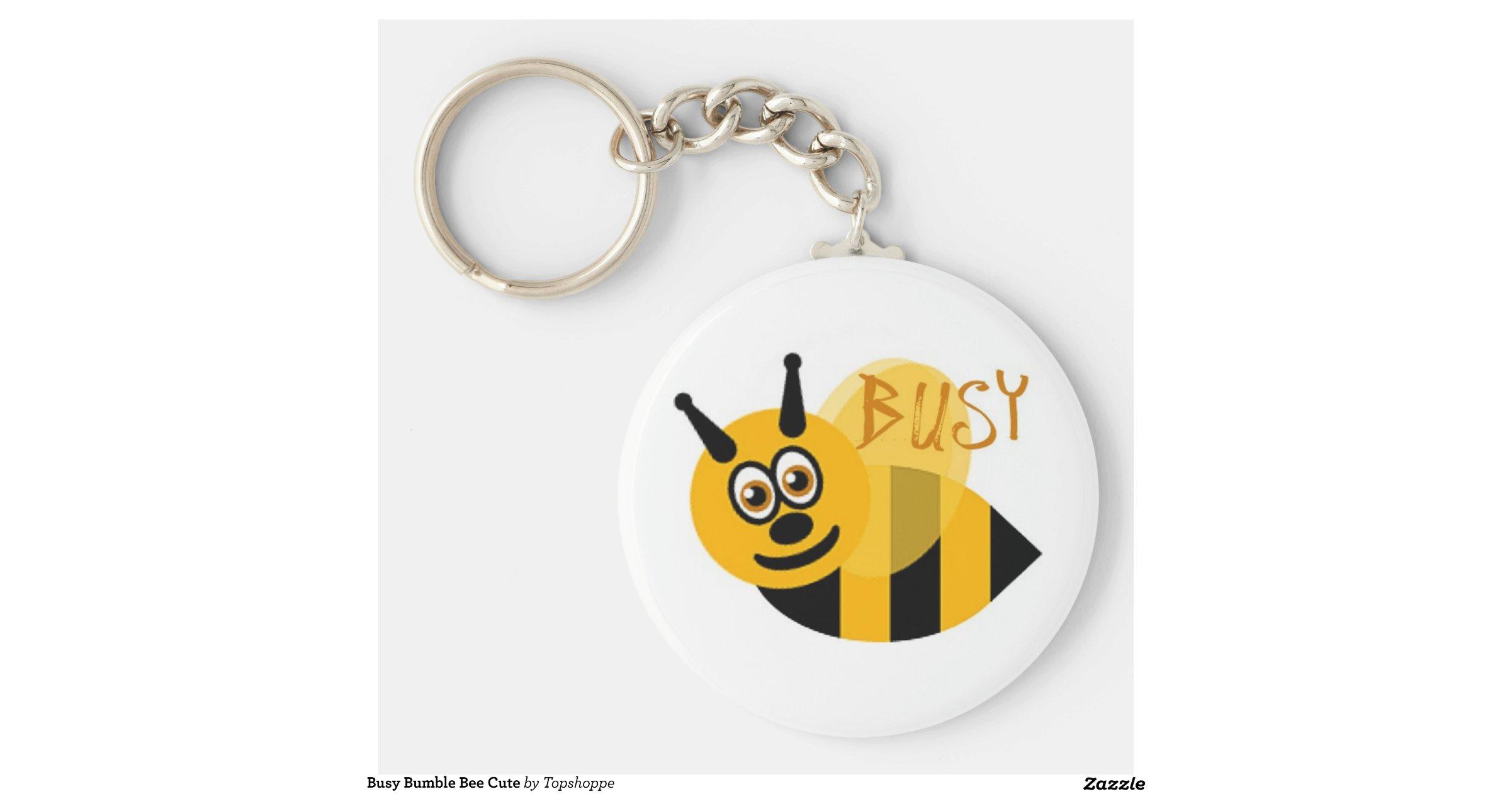 Bumble Bee Key Ring