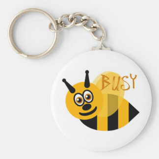 Busy Bumble Bee Cute Keychains