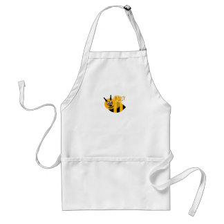 Busy Bumble Bee Cute Standard Apron