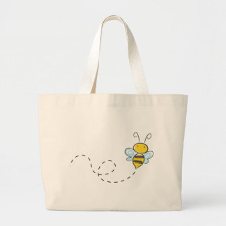 Busy Bumble Bee Jumbo Tote Bag