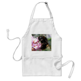 Busy Bumblebee and Pink Flowers Apron