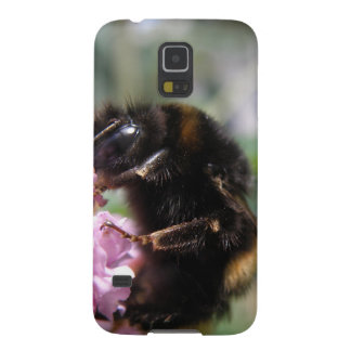 Busy Bumblebee and Pink Flowers Samsung Case