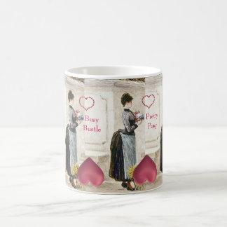 Busy Bustle Florist's Big Furbelow Fashion Bouquet Coffee Mug