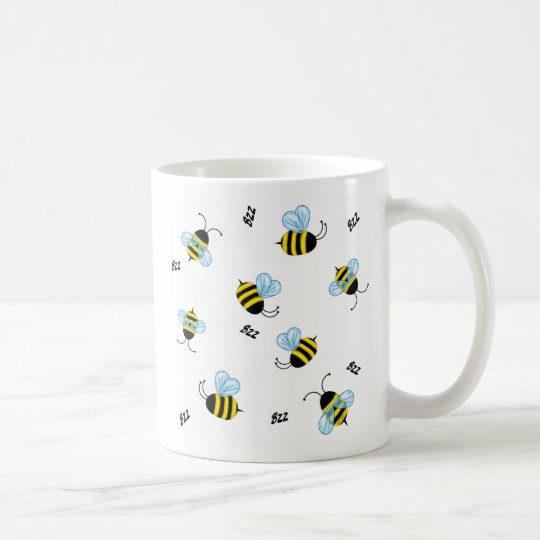 Busy Buzzing Bumble Bees Mug