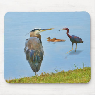 Busy Day at the Pond Mousepad