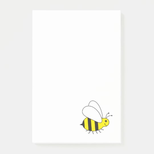 Busy Little Bumble Bee Post-it Notes