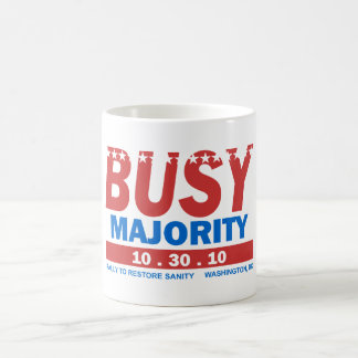 Busy Majority mug