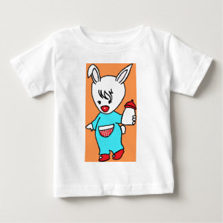 Busy Rabbit.jpg Baby T-Shirt