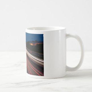busy road coffee mug
