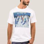 Busy Ski Slope Lofer 2004 T-Shirt