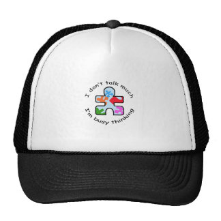 BUSY THINKING TRUCKER HAT