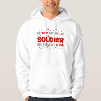 But i have his heart - Army Hoodie