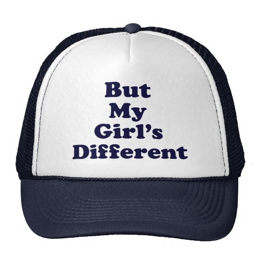 But My Girl's Different Cap