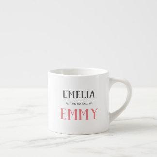 But you can call me mug