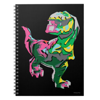 Butch Abstract Silhouette Spiral Notebook