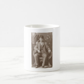 Butch Cassidy - Outlaw Portrait Basic White Mug