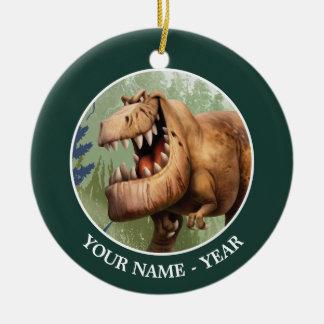 Butch Charging Christmas Ornament