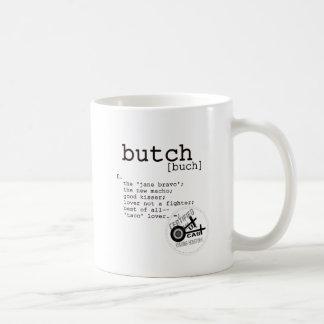 BUTCH COFFEE MUG