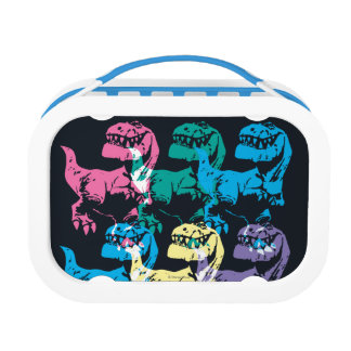Butch Color Stamp Lunch Boxes
