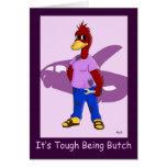 Butch Duck: Lesbian Birthday Greeting Card