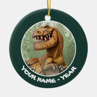 Butch In Forest Christmas Ornament