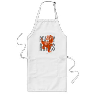 Butch Reality Roars Long Apron