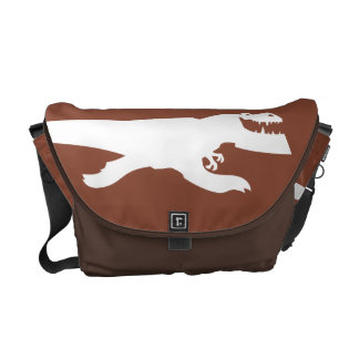 Butch Silhouette Messenger Bags