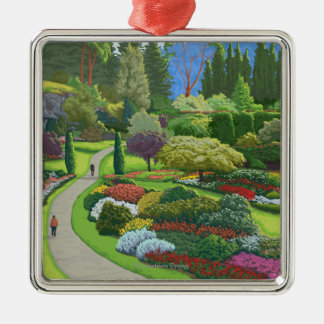 Butchart Gardens - Brentwood Bay Christmas Ornament