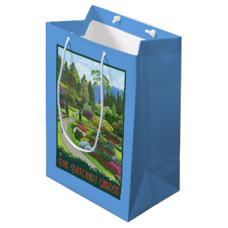 Butchart Gardens - Brentwood Bay Medium Gift Bag