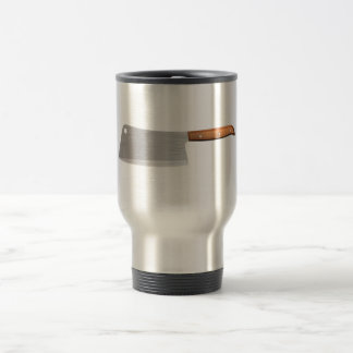 Butcher knife travel mug