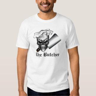 Butcher Skull 1 Tee Shirts