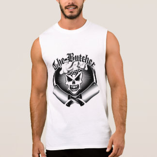 Butcher Skull 2 Sleeveless Shirt