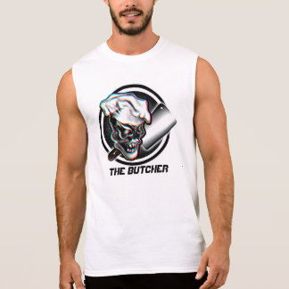 Butcher Skull 5 Sleeveless Shirt