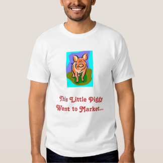 Butchered piggy funny tshirts