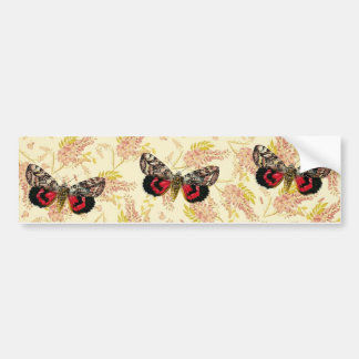 Buterfly Pink Wisteria Bumper Sticker