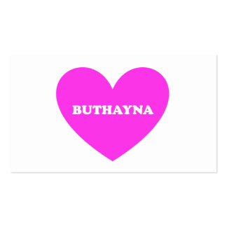 Buthayna Business Cards